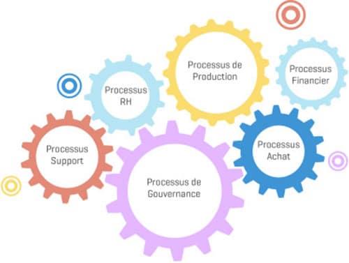 PYX4 - Représentation d'une vision transverse entre tous les processus de l'entreprise lors d'une démarche d'amélioration continue