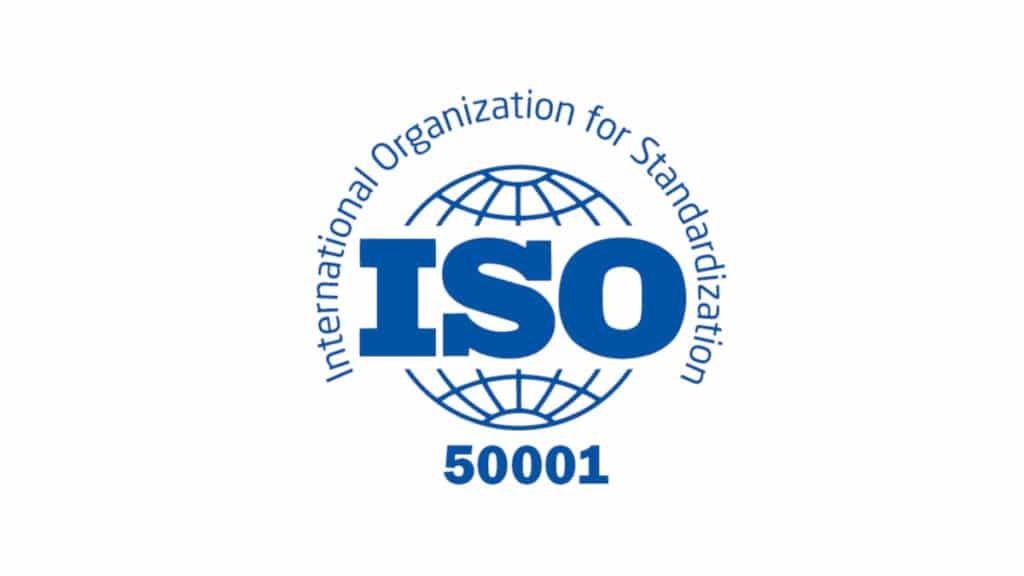 Logo de l'ISO 50001 - pour le système de management de l'énergie