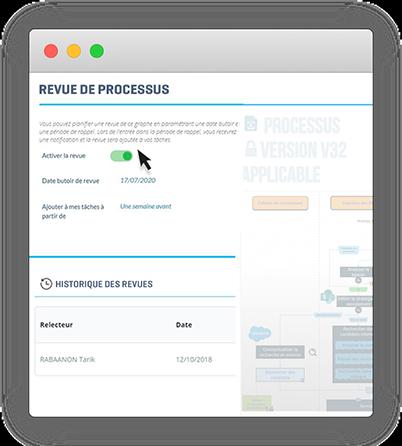PYX4 Process : revues de versioning et mises à jour