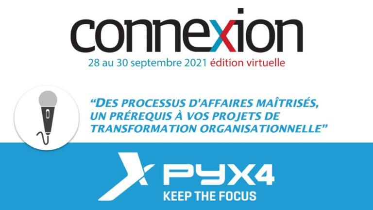 PYX4 - Actualité sur la participation de PYX4 au salon connexion 2021